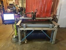 Torchmate 2 4x4 CNC Plasma Complete system with water table and engraving head