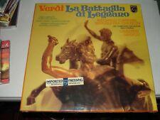 Verdi LA BATTAGLIA DI LEGNANO- Gardelli, Carreras (2 LPs,1978) Brand New, Sealed