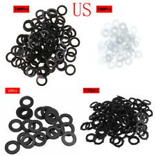 """100x 3/4""""Garden Pipe Water Shower Hose Washers Seal Tap Faucet Fitting Connector"""