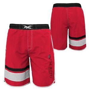 Outerstuff NBA Youth Boys (8-20) Portland Trail Blazers Color Block Swim Trunks