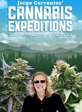NEW Jorge Cervantes' Cannabis Expeditions: The Green Giants of California (DVD)