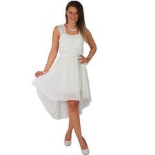 Vestidos de mujer de color principal blanco de poliéster talla 38