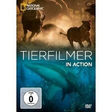 NATIONAL GEOGRAPHIC: TIERFILMER IN ACTION  DVD NEU