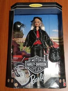 1997 HARLEY DAVIDSON Barbie Doll Blonde Limited First Edition #17692 NRFB