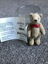 """Rare Schuco Miniature 2.75"""" Tricky Bear Mint In Box Must See No Res Buy Now!"""