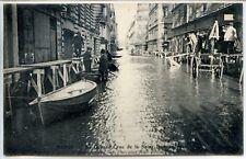 CP 75 Paris - Inondations de janvier 1910 - Rue Bellechasse