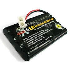 9.6V 1000mAh Ni-Cd Rechargeable Battery Pack Tamiya Connector For RC US Stock