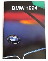 "ORIGINAL 1994 BMW PERFORMANCE CARS SALES BROCHURE ~ 46 PAGES ~ 8"" BY 5.7"""