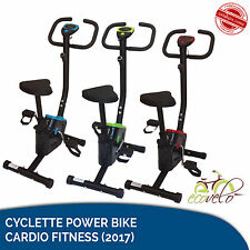 OFFERTA CYCLETTE POWER BIKE CARDIO FITNESS HOME ALLENAMENTO DA CAMERA