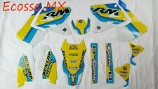 Suzuki RM125 RM250 2001-2010 FLU Graphics Stickers Decals Motocross
