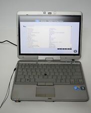 HP EliteBook 2740p Intel i5 M520 2.4GHz NO HDD 2GB RAM Touch Tablet Laptop #31