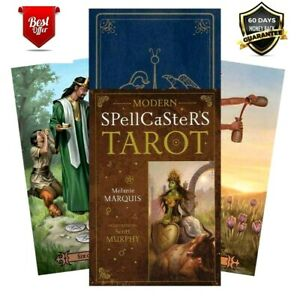 Modern Spellcaster's Tarot: A 78 Cards Deck English Language Divination Oracle