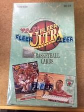 1992/93 Fleer Ultra Series 1 Basketball NBA BOX Unopened