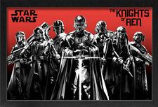 STAR WARS RISE OF SKYWALKER EPISODE 9 IX KNIGHTS OF REN KYLO 13x19 FRAME POSTER!