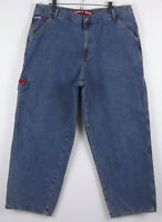 Tommy Hilfiger Relaxed Cargo Carpenter Jeans Mens 38 x 30 Measures 36 x 30