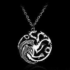 Game of Thrones Targaryen Song of Ice and Fire Dragon Pendant Necklace GOT