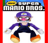 11 inch Super Mario Bros Series Waluigi Koopa Plush Doll Stuffed Free Shipping