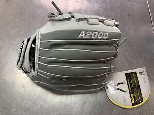 "Wilson A2000 SuperSkin 12"" Fastpitch Softball Glove Left Hand Thrower"