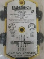 New Brad Harrison Woodhead 409P495 MPIS Multi-Port Interconnect System