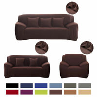 1 2 3 4 Seater Fit Stretch Couch Elastic Sofa Slipcover Cover Armchair Universal