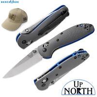 Benchmade 556-1 Mini Griptilian Knife Axis CPM-20CV Satin Blade G10 Free Hat