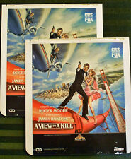 James Bond VIEW TO A KILL CED Videodisc Set