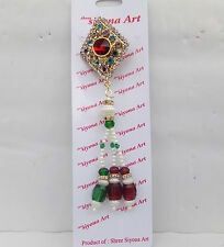 Ethnic Indian Party Fashion Suit / Saree pin Brooch All Occasion Gold Tone Fancy