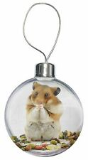 Lunch Box Hamster Christmas Tree Bauble Decoration Gift, HAM-1CB