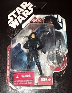 STAR WARS DEATH STAR TROOPER 30TH ANNIVERSARY #13 ACTION FIGURE + COIN NEW RARE