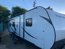 "2019 25ft Pacific Coachworks ""Tango� Travel Trailer , White w/ Black Trim"