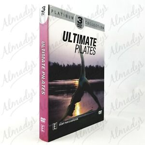 Ultimate Pilates Platinum Collection 3Disc Health Fitness Full Body Conditioning