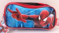 Marvel The Amazing Spider-Man 2 Kids Boys Red Blue Pencil Pen Case School NWT