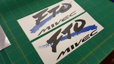 Mitsubishi FTO Mivec version R  replacement  side decals stickers graphics