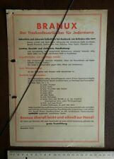 Luftschutz Krieg 1940 Feuerlöscher Feuerwehr Creutz  Hamburg Branux Werbung  143