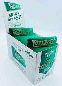 RIZLA Green Regular Standard Size Cigarette Smoking Rolling Paper 5 10 25 50 100
