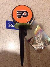New listing Philadelphia Flyers Nhl Garden Hockey Puck Plant Pick Stake, Nwt