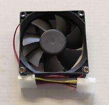Nuevo De 80 Mm Ultra Silencioso de bajo ruido sistema Computadora Pc Refrigerante refrigeración Funda Ventilador