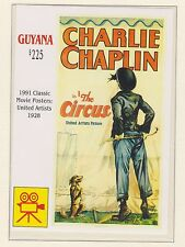 GUYANA STAMP SHEET MNH CLASSIC MOVIE POSTERS CHARLIE CHAPLIN THE CIRCUS