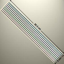 "Mrs Grossman's Border Sticker (12"" x 2"") PASTEL METALLIC STRIPS - UP T0 20% OFF"