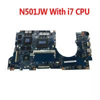 For ASUS UX501J UX50JW N501J N501JW Motherboard W/ i7 CPU rev2.1 Mainboard 4GB