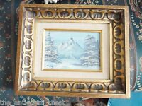 Original Oil Painting landscape signed by W. Judy, gorgeous frame[8]
