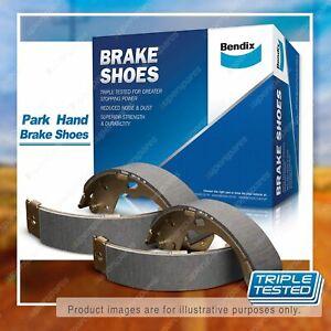 Bendix Park Hand Brake Shoes for Mitsubishi Pajero NG NH NJ NK NL 1990 - 2000
