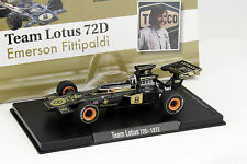 Emerson FITTIPALDI LOTUS 72d #8 Weltmeister formula 1 1972 1:43 ALTAYA