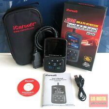 i910 iCarsoft OBD2 Diagnose Gerät für BMW X3 X5 E39 E46 E60 E63 E65 E90 E87 ++