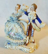 GORGEOUS ~ MULLER VOLKSTEDT IRELAND ~ DRESDEN LACE ~ DANCING LORD & LADY