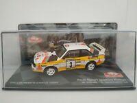 1/43 AUDI QUATTRO SPORT 1985 MONTECARLO RALLYE IXO RALLY CAR ESCALA DIECAST