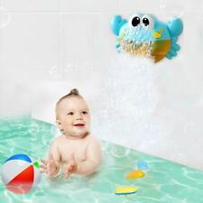 Baby Kids Bath Toy Bubble Crabs Funny Music Bath Bubble Maker Pool Swimming Toys