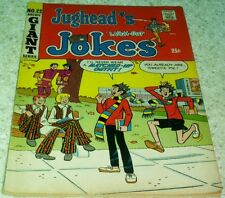 Jughead's Jokes 22, Vf (8.0) 1971 Archie, 50% off Guide!