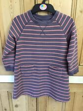 Mini Boden Sweatshirt Dress Age 5-6