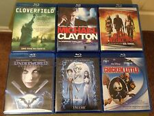 BLU-RAY MOVIES LOT of 6 Cloverfield, The Devils Rejects ETC. FREE SHIPPING